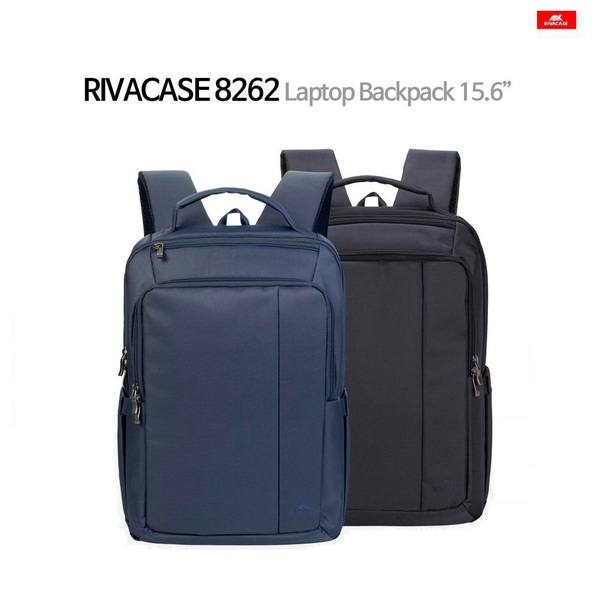 독일 RivaCase 8262 Laptop Business Backpack 15.6