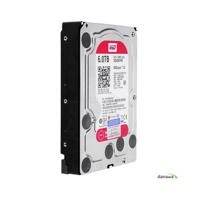 WD 6TB Red WD60EFRX (SATA3/5400/64M)
